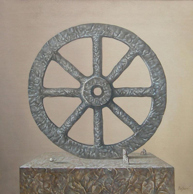 """Олег Басаев """"Каменное колесо"""" 2010"""