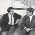 Андрей Вознесенский и Роберт Кеннеди. 1967