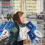 """Ю. Пименов """"Новые номера. Из серии """"Новые кварталы"""" 1963"""