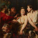"Якоб Йорданс ""Мелеагр и Аталанта"" 1617-1618"