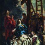"""Якоб Йорданс """"Оплакивание Христа"""" 1650-е"""
