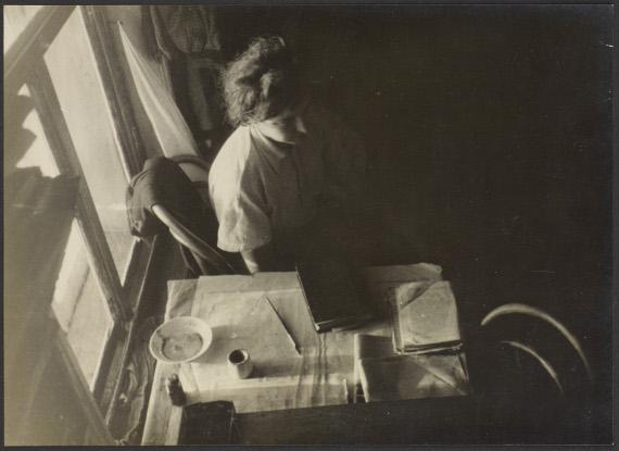 Александр Родченко «Очер. Эвакуация» 1941 Частное собрание. Предоставлено: © Мультимедиа Арт Музей