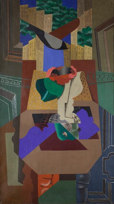 Леопольд Сюрваж «Ваза с камелией и птица» 1919 Предоставлено: © Галерея «Наши художники».