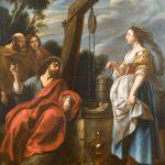 "Якоб Йорданс ""Христос и самаритянка"" Около 1650"