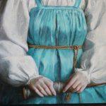 Татьяна Чувашева. Фрагмент картины