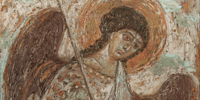 Евангелие, святые, ангелы в живописи Петра Григорьева и Екатерины Кудрявцевой.