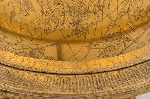 Модель Вселенной эпохи Ренессанса. Астрономические часы XVI века из собрания Государственного Эрмитажа.
