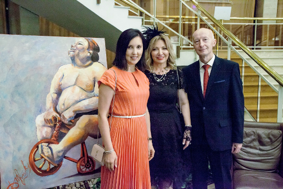 Открытие галереи современного искусства LEONТЕVA ART GALLERY.