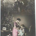 """Неизвестный автор """"Открытка """"С Рождеством Христовым"""" 1910-е"""