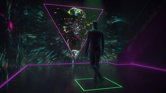 """Выставка """"HI, HUMAN. Интерактивная инсталляция"""". Центр современного искусства МАРС."""