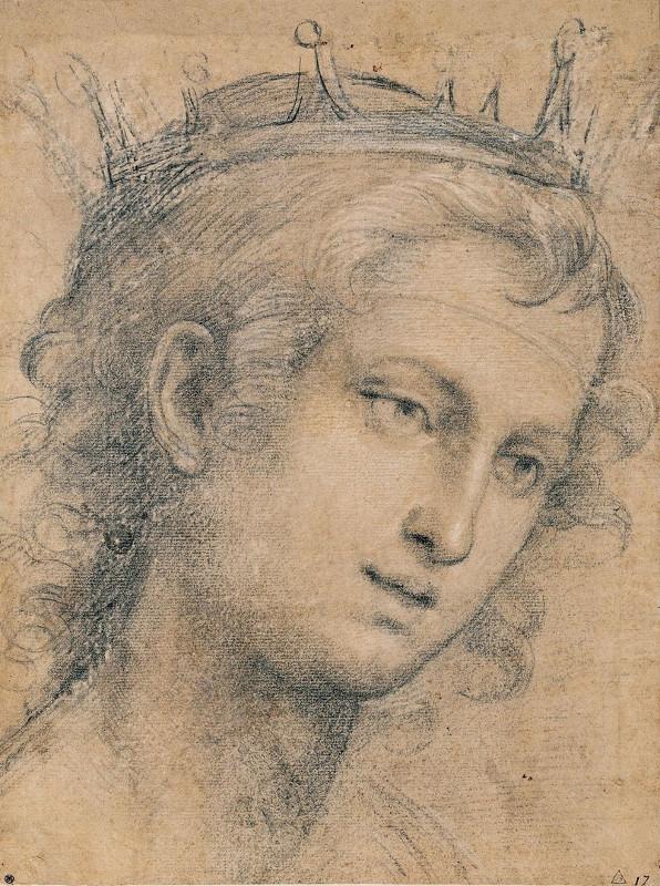 """Джаванни Баттиста Сольяни """"Голова молодого святого"""" Около 1521"""