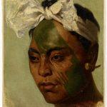 Неизвестный автор. Татуированный житель Маркизских островов. XIX век