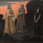 """Виктор Васнецов """"Три царевны подземного царства"""" 1879"""