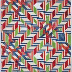 "Анна Андреева ""Эскиз рисунка для ткани"" 1963"