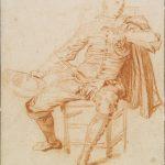 """Антуан Ватто """"Актер в костюме Криспена"""" Около 1715–1716"""