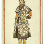"Иван Билибин ""Иван Царевич. Эскиз костюма"" 1907"