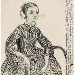 """Винсент ван Гог """"Портрет молодой девушки"""" 1888"""