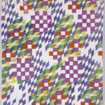 "Анна Андреева ""Эскиз рисунка для ткани"" 1968"