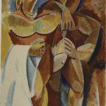 "Пабло Пикассо ""Дружба. Эскиз картины"" Зима 1907–1908"