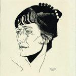"""Юрий Анненков """"Портрет А. А. Ахматовой"""" 1921"""