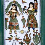 """Неизвестный автор """"Ширма (каталог татуировщика)"""" Северная Африка и Ближний Восток. XIX век"""