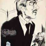 """Юрий Анненков """"Портрет К.И. Чуковского"""" 1921"""