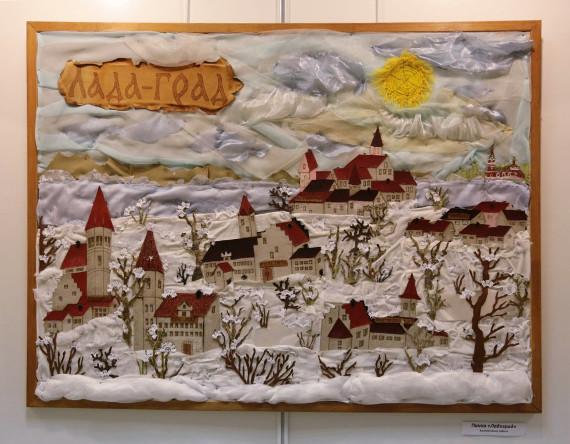 """Выставка """"Маленькие шедевры. Студия """"Ладаград"""". Галерея-мастерская """"Варшавка""""."""