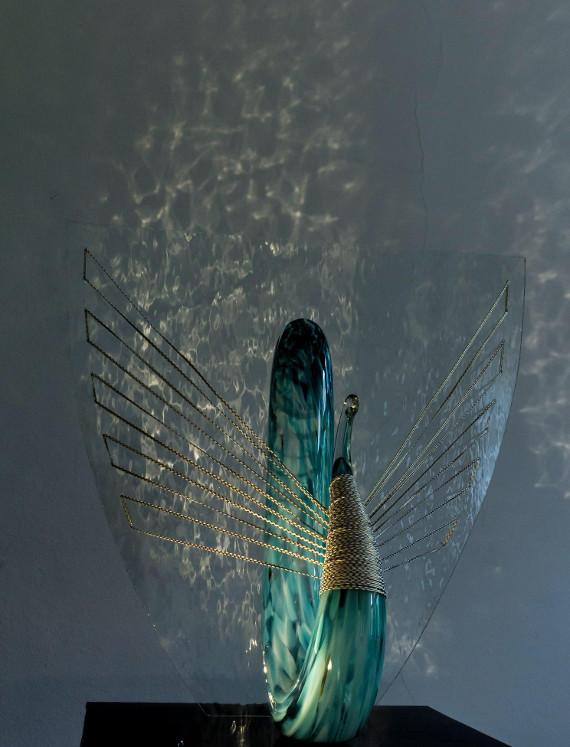 """Выставка """"Нестрашные сказки. Художественное стекло Юлии Мерзликиной"""". Музей-заповедник """"Царицыно"""" — Малый дворец."""