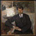 "Н.И. Фешин ""Портрет М.Т. Теплова"" 1906"
