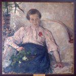 """Н.И. Фешин """"Портрет М.Т. Тепловой"""" 1906"""
