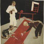 """Александр Дейнека """"Первое мая. Иллюстрация к одноименной книге Агнии Барто"""" 1928"""