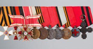 За службу и храбрость. 250 лет ордену Святого Георгия.