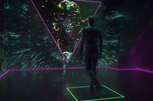 HI, HUMAN. Интерактивная инсталляция.