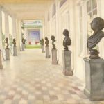 """Зинаида Серебрякова """"Камеронова галерея. Царское село"""" 1922"""