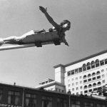 """Эммануил Евзерихин """"Физкультурный парад на Манежной площади"""" Москва, 1938"""