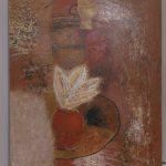 """Лилиана Спик """"Цветок и золотая чашка"""" 2003"""