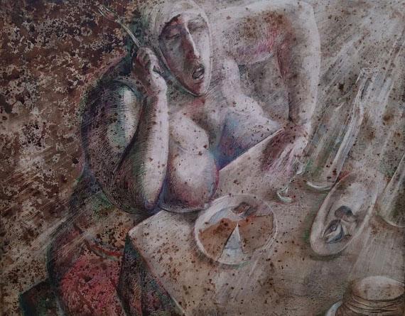 """Александр Рукавишников """"Масленица"""" 2006 Предоставлено: Арт-галерея VS Unio."""