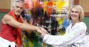 Мастер-класс Валеры и Наташи Черкашиных «Творческий процесс как отражение изменений в стране, в мире и в космосе».