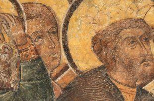 Калязин. Фрески затопленного монастыря.