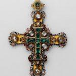 Крест наперсный царя Петра Алексеевича