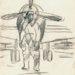 "Дейнека А.А. ""Летчик"" 1942–1944"