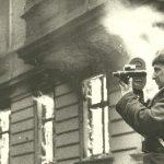 Илья Аронс в Берлине. Май 1945 г.