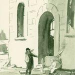 """Сойфертис Л.В. """"Берлин. Скрипач"""" 1945"""