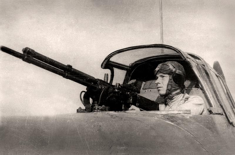 """Зенин А.И. """"Стрелок перед боевым вылетом"""" 1945"""