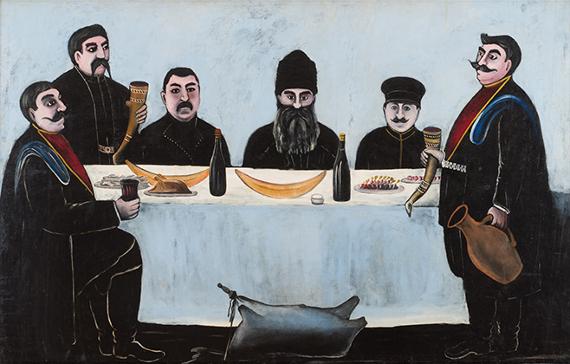 Нико Пиросмани «Кутеж». Предоставлено: © Государственный Музей Востока.