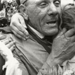 """Георгий Петрусов """"Встреча на Белорусском вокзале"""" 1945"""