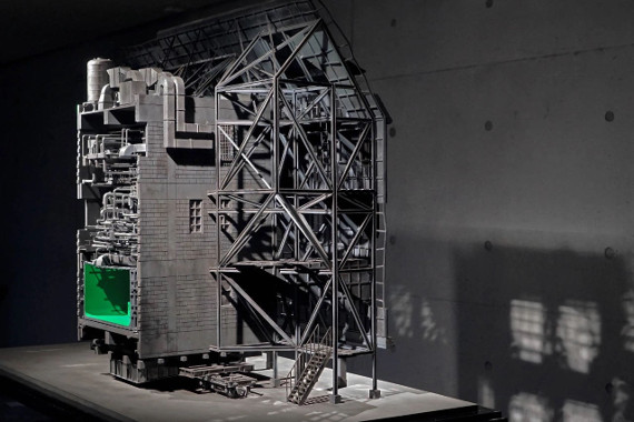 Wang Zigeng(2019). Black Maria. Installation. Courtesy the artist. Предоставлено: Cube.Moscow.