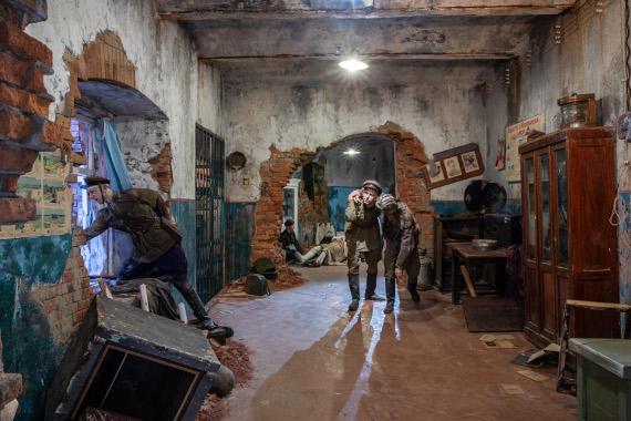 Фрагмент экспозиции «Подвиг Народа». Предоставлено: Музей Победы.
