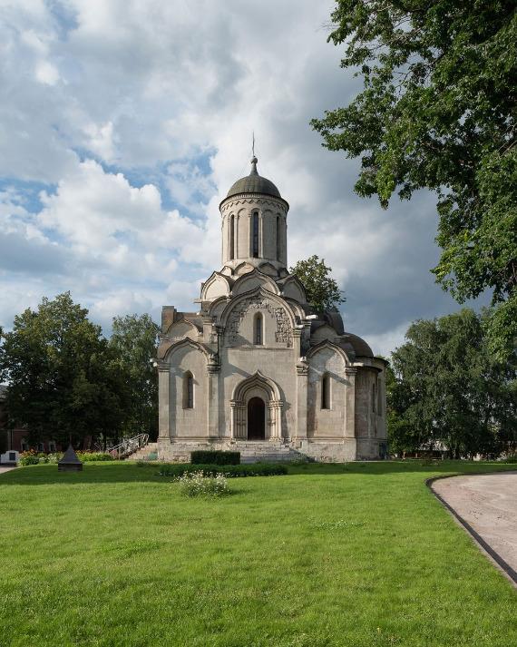 Спасский собор (1410-1427) - сердце Спасо-Андроникова монастыря. Предоставлено: Музей имени Андрея Рублева.