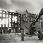"""Дмитрий Бальтерманц """"Остановка на марше"""" 1945"""
